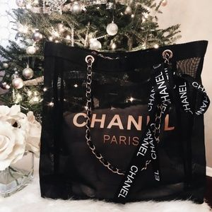 🎄 CHANEL VIP ROSE GOLD TOTE - AUTHENTIC 🎄